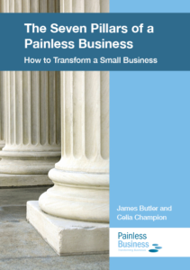 Seven Pillars of a Painless Business Book Front Cover